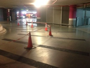 Parking ramp access