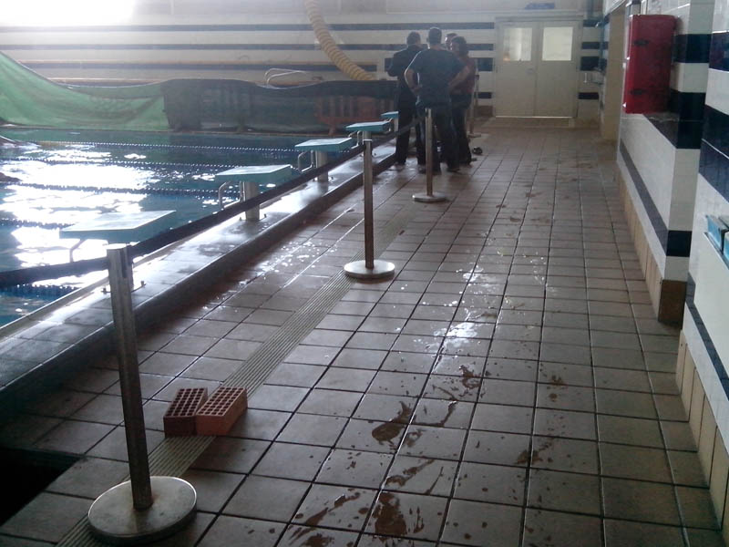 piscina de sant joan despi perfect planta baja sant joan