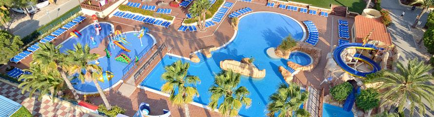 Playa de piscina de gres porcelánico