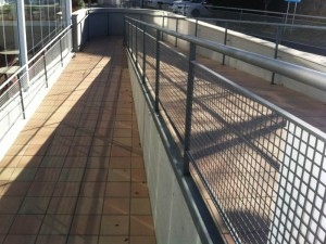 Ramp hospital access