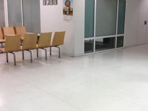 Suelo de Terrazo en centro de salud